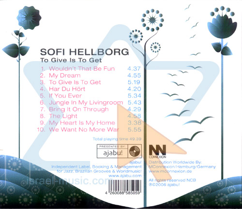 To Give is to Get by Sofi Hellborg