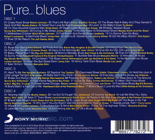 Pure...Blues لـ Various