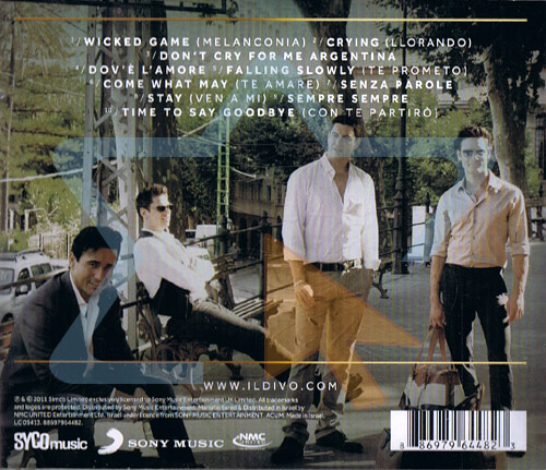 Wicked game by il divo for Il divo wicked game