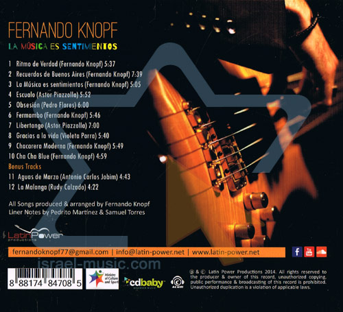 La Musica Es Sentimentos - פרננדו קנופף