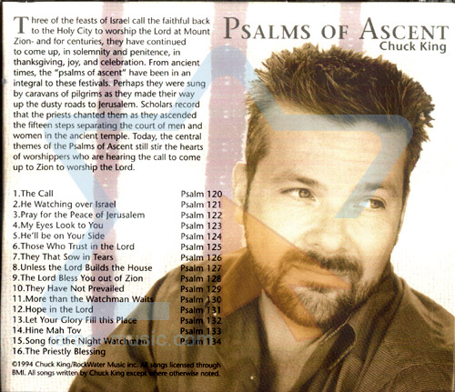 Psalms of Ascent by Chuck King