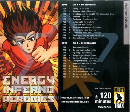 Energy Inferno - Volume 01 by Various