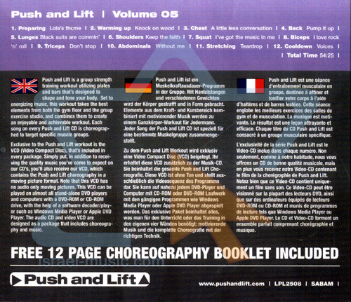 Push and Lift - Volume 05 by Various