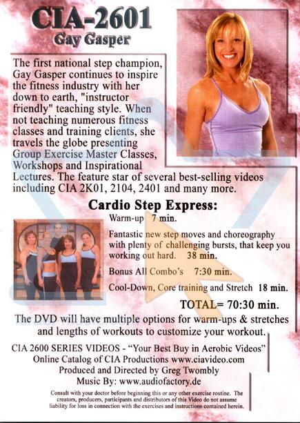 Cardio Step Express by Gay Gasper