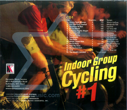 Indoor Group Cycling - Vol.1 by Various