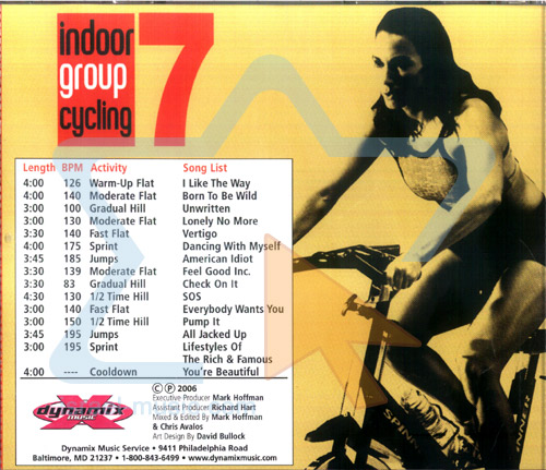Indoor Group Cycling - Vol.7 by Various