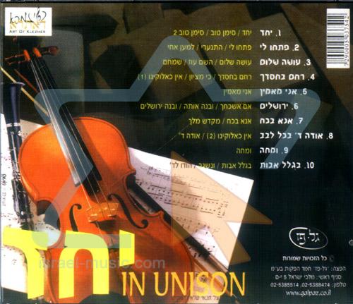 In Unison by Moshe (Musa) Berlin