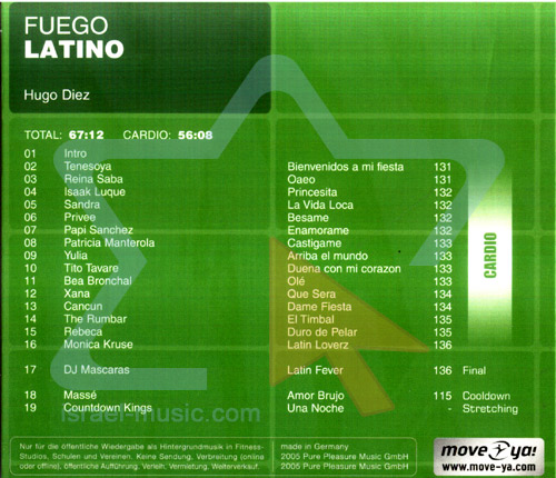 Fuego Latino by Various