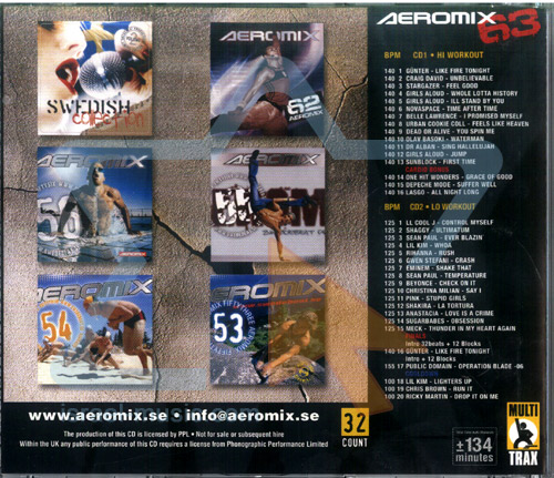 Aeromix - Volume 63 by Various