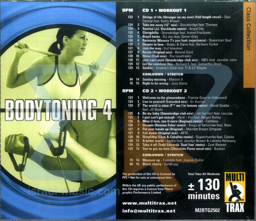 Bodytoning - Volume 4 by Various