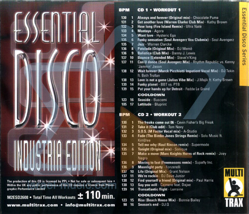 Essential Disco - Industrial Edition by Various