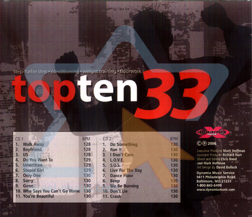 Top Ten Radio Dance Mix 33 - Step by Various