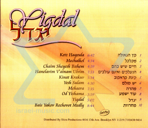 Yigdal by Bais Yakov Girls Chior