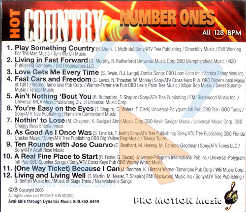 Hot Country Number Ones by Various