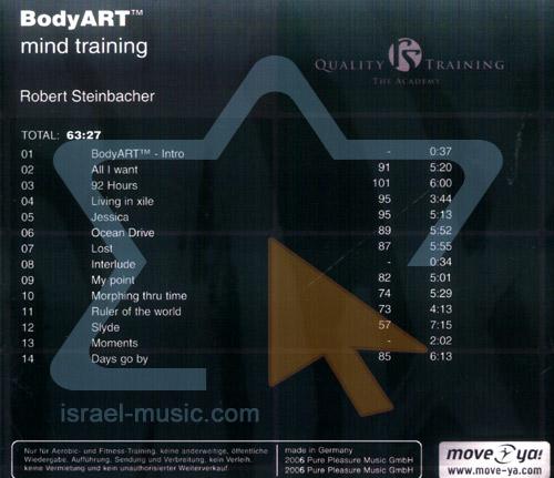 Body Art Mind Training By Robert Steinbacher