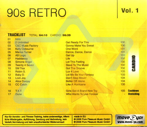 90's Retro - Vol. 1 by Various