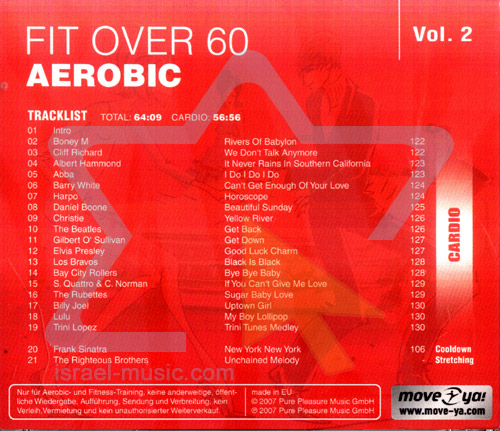 Fit Over 60 Aerobic - Vol. 2 by Various
