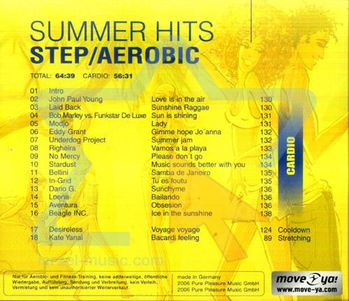 Summer Hits - Step / Aerobic by Various