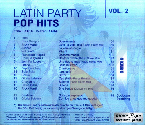 Latin Party - Vol. 2 by Various