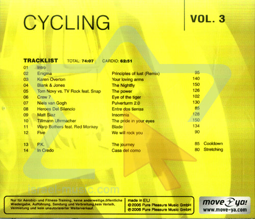 Cycling - Vol. 3 by Various