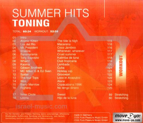 Summer Hits - Toning by Various