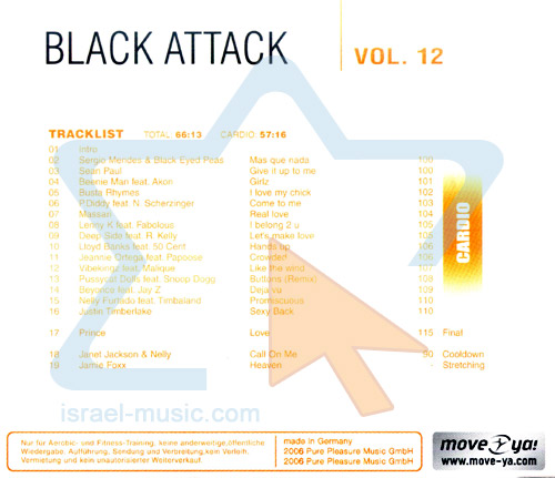 Black Attack - Vol. 12 by Various
