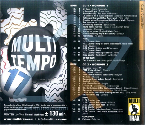 Multi Tempo - Volume 17 by Various