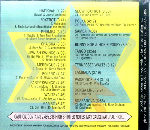 The Real Complete Jewish Party - Vol. 3 by David and the High Spirit