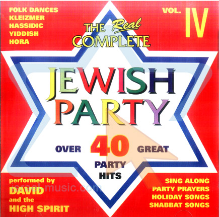 The Real Complete Jewish Party - Vol. 4 by David and the High Spirit