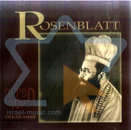 Tifilos Yosef Por Cantor Yossele Rosenblatt