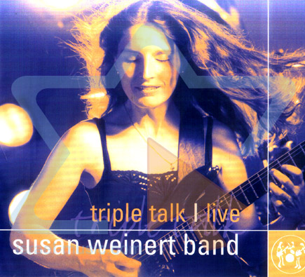 Triple Talk   Live by Susan Weinert Band