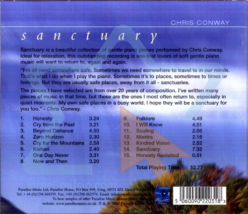 Sanctuary by Chris Conway