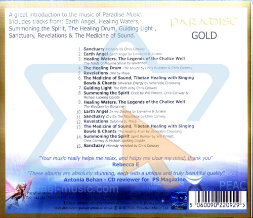 Paradise Gold - Vol. 1 Por Various