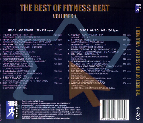 The Best of Fitness Beat Vol. 1 by Various