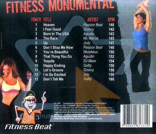 Fitness Monumental by Various