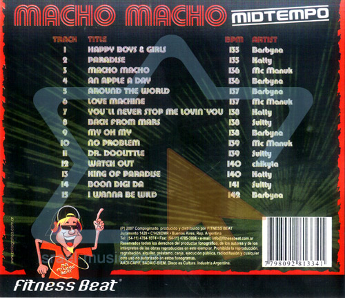Macho Macho - Mid Tempo by Various