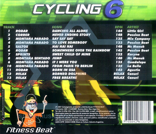 Cycling - Vol. 6 Par Various