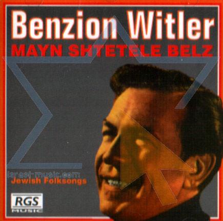 Mayn Shtetele Belz - Benzion Witler