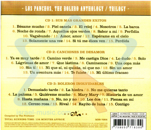 Los Panchos - The Bolero Anthology by Los Panchos