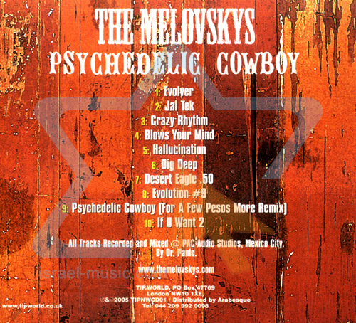 Psychedelic Cowboy by The Melovskys