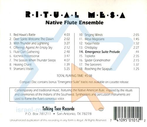 Ritual Mesa by Native Flute Ensebmle