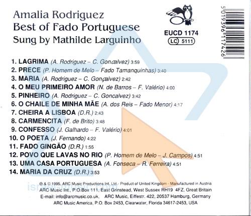 Best of Fado Portuguese by Mathilde Larguinho