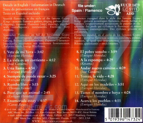 Gypsy Flamenco Rumba - La Vida by Grupo Macarena