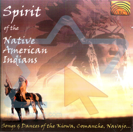 Spirit of the Native American Indians by Various