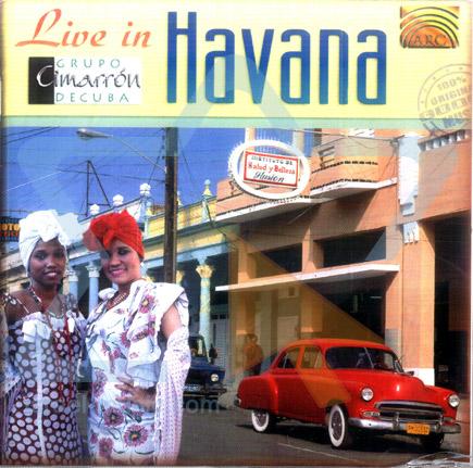 Live in Havana by Grupo Cimarron Decuba