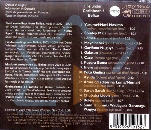Garifuna Music by Various