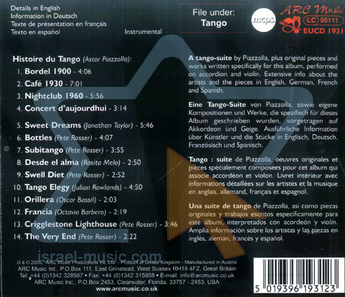 Histoire Du Tango - Tango Enrosque