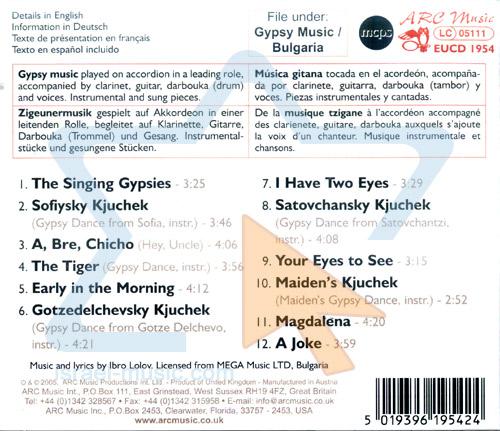 Bulgarian Gypsy Music by Ibro Lolov Gypsy Orchestra