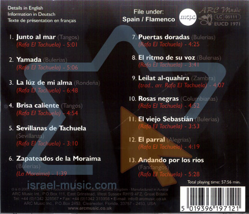 Flamenco Nuevo - Rosas Negras by Rafa el Tachuela