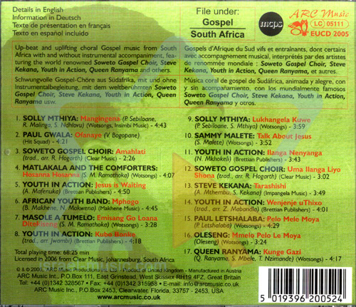 South African Gospel by Various